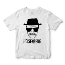 Camiseta Breaking Bad Heisenberg - Séries