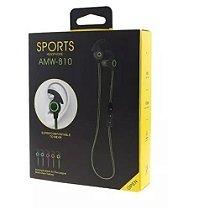 Fone Ouvido Amw-810 Headset Bluetooth 4.1 Sem Fio Stereo