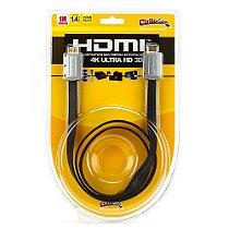 Cabo HDMI FLAT Desmontável 1.4 Ultra HD 3D, 1 metro