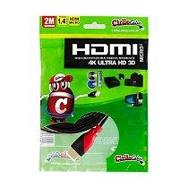 Cabo MICRO HDMI para HDMI 1.4 Ultra HD 3D, 2 metros