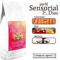 Café especial Café Épico  - Terras Brasileiras - Família Dias 250g