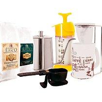 Kit Cofeelover coado Café Épico (Amarelo).