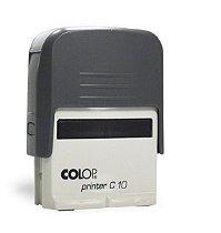 Carimbo Automático Printer C10 - Cinza