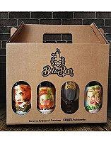 Embalagem Presente Bela Beer com 4 Posições