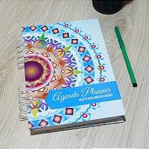 Agenda Planner Personalizada Mandala | Personalize a Capa e Mês de Início |Ver Descrição | M82