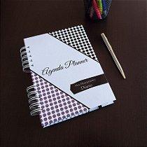 Agenda Planner Personalizada | Personalize a Capa e Mês de Início |Ver Descrição | M95