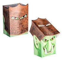 DECK BOX PORTA CARTAS KNIGHT BOX GOBLIN P/ MAGIC POKÉMON E YU-GI-OH! P/ MONTAR