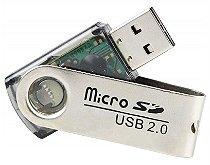 LEITOR USB DE CARTÃO MICRO SD XTRAD XD802