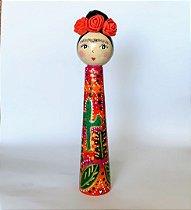 Boneca pé palito Frida