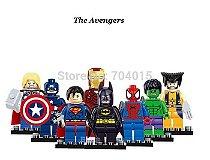 Lego Marvel Vingadores Série de Ações Mini figuras Lego Conjunto Com 8 peças