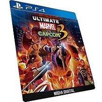 Ultimate Marvel Vs Capcom 3 + Dlc GAME DIGITAL PS4 PSN PLAYSTATION STORE