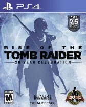 Rise Of The Tomb Raider 20 Year Celebration Game Ps4 PSN Digital Playstation Store