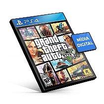 Gta V Grand Theft Auto 5 Jogo Midia Digital Ps4 Psn Playstation Store