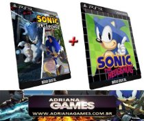 Sonic Unleashed e Sonic 1 PS3 Game Digital PSN