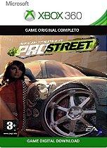 Need For Speed Pro Street Game Xbox 360 Jogo Digital Original Xbox Live