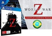 World War Z Game PS4 Digital PSN