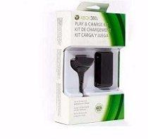 Bateria Recarregável + Cabo Recarregador USB Para Controle Xbox 360