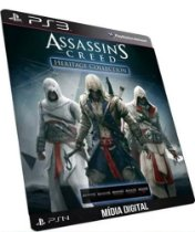 Assassin´s Creed Heritage Collecions 5 Games PS3 Digital PSN