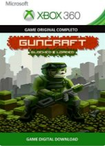 Guncraft: Blocked and Loaded Xbox 360 Game Digital Original