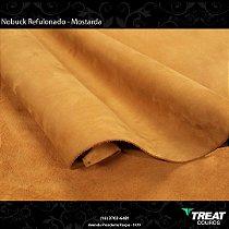 Nobuck Refulonado Mostarda