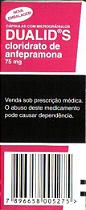 ANFEPRAMONA 75MG/60 COMPRIMIDOS DUALID-S  SEM RECEITA