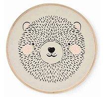 Quadrinho Bastidor Bordado Urso