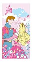 Toalha de Banho Santista Disney Jardim das Princesas 100% Algodão