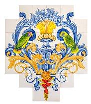 Painel de Azulejo 09 - 98x84cm