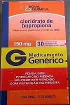 CLORIDRATO DE BUPROPIONA 150MG - 30 COMPRIMIDOS