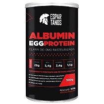 Albumina Egg Protein Clara de Ovo Pasteurizada 500g - Espartanos