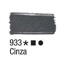 Tinta para tecido 37ml Acrilex 933 Cinza