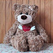 Urso de Pelúcia - Tamanho 45cm - LUZ ROWENA