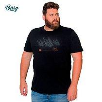 Camiseta Gola Careca Plus Size - Guitar Store