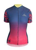 Camisa De Ciclismo Feminina Mauro Ribeiro Caribe