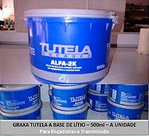 Graxa Tutela a base de lítio para roçadeiras e transmissão
