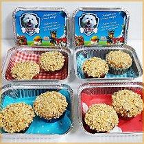 Marmitinhas com Mini Pupcakes   6 unidades