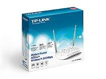 Modem Roteador Wireless N ADSL2+ de 300Mbps TD-W8961N