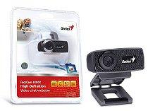 WEBCAM GENIUS FACECAM 1000X V2 HD 720P USB 2.0 ZOOM 3X