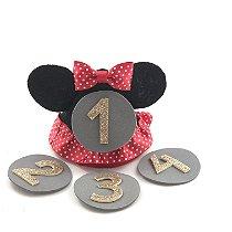 Kit mesversário Minnie