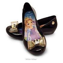Sapatilha Infantil Princess - Preto