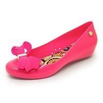 Sapatilha Miss-Miss Laço Mota - Pink