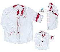 Kit camisa Alcides - Família (três peças)   Vermelha   Mickey
