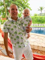 Kit camisa Taylor - Tal pai, tal filho (duas peças) | Safari