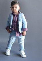 Conjunto Estevão - Blazer e calça jeans (duas peças)