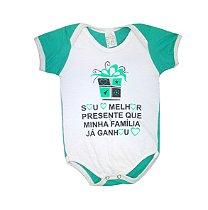 Body de Bebê Melhor Presente