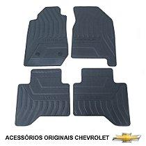Jogo De Tapetes Em Pvc Nova S10 Cabine Dupla Original Peças GM Chevrolet 52042044