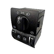Interruptor Botão do Farol [Com Neblina Dianteiro e Traseiro Regulagem] - Peças Genuínas GM Unitário Chevrolet Zafira de 2001 até 2012 Código: 9138347