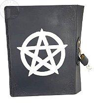 Grimório - Pentagrama (com cadeado)