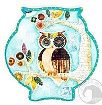 Coruja em Cerâmica para Parede
