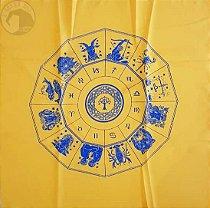 Toalha do Zodíaco - Amarela